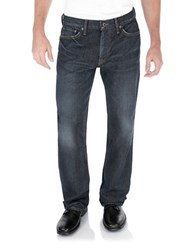 Lucky Brand Aliso Straight Jeans Blue