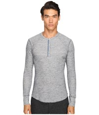 Todd Snyder Thermal Henley Navy