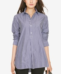 Polo Ralph Lauren Striped Tunic Navy White