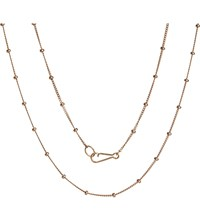 Annoushka Classic Saturn 18Ct Rose Gold Short Chain Necklace