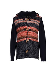 Rare Ra Re Knitwear Cardigans Men Dark Blue
