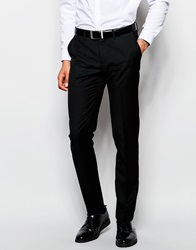 Sisley Suit Trouser In Slim Fit Black