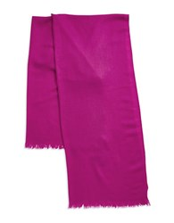 Lord And Taylor Oversize Wool Cashmere Wrap Scarf Pink