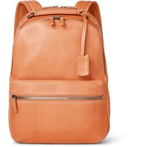 Shinola The Runwell Leather Backpack Brown