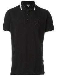 Just Cavalli Classic Polo Shirt Black