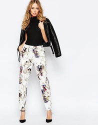 Y.A.S Prism Pants In Graphic Print Prism Print