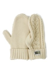 Australia Luxe Collective Knit Gloves White