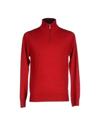 Andrea Morando Knitwear Turtlenecks Men Red