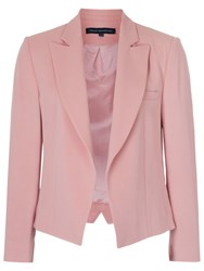 French Connection Rikki Crepe Blazer Rose Tan