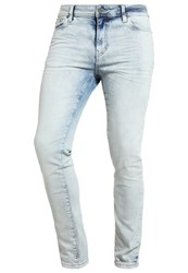 Pier One Slim Fit Jeans Bleached Denim