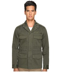 Marc Jacobs Cotton Sateen Bomber Jacket Forest Night Men's Coat Green