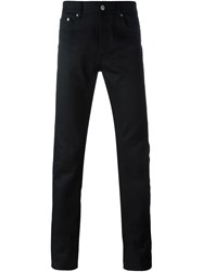 Givenchy Star Print Slim Fit Jeans Black