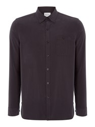Peter Werth Men's Dumont Polynosic Shirt Charcoal