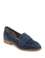Seychelles Tigers Eye Suede Loafers Blue