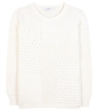 Closed Cotton Sweater White