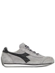 Diadora Trident Stone Washed Suede Sneakers