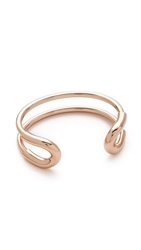 Giles And Brother Skinny Cortina Cuff Rose Gold