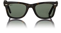 Ray Ban Men's Wayfarer Sunglasses Brown