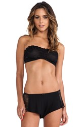 Free People Essential Lace Bandeau Black