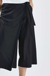 Boutique Tailored Wrap Culotte By Navy Blue