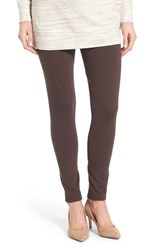 Vince Camuto Women's Two By Seamed Back Leggings Espresso