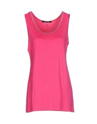 Naughty Dog Topwear Vests Women Fuchsia
