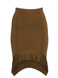 Givenchy Curved Hem Knitted Skirt