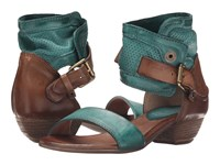 Miz Mooz Cali Emerald Women's Sandals Green