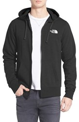 The North Face Men's 'Lfc' Full Zip Fleece Hoodie Tnf Black Tnf White