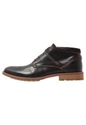 S.Oliver Casual Laceups Dark Brown