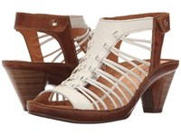 Pikolinos Java W5a 0728 Nata Brandy High Heels White