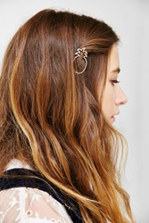 Urban Outfitters Pina Colada Hair Clip Gold