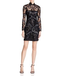 Reiss Asabi Embellished Lace Dress 100 Bloomingdale's Exclusive Gunmetal
