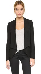 Superfine Military Blazer Black