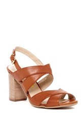Manas Design Slingback Sandal Brown
