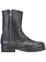 Alberto Fasciani Distressed Boots Black