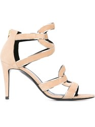 Pierre Hardy 'Kaliste' Sandals Nude And Neutrals