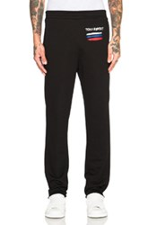 Opening Ceremony Tchaikovsky Cut Off Sweatpants In Black