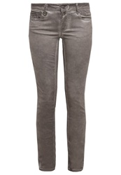 Only Onlhazel Slim Fit Jeans Caribou Light Brown