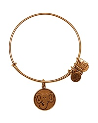Alex And Ani Elephant Expandable Wire Bangle Charity By Design Collection Rafaelian Gold
