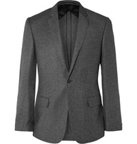 Kilgour Grey Slim Fit Wool Silk And Cashmere Blend Suit Gray