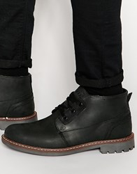 Firetrap Tower Lace Up Boots Black