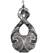 Thomas Sabo Rebel At Heart Sterling Silver Maori Infinity Pendant