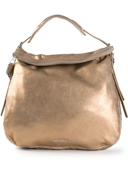 Jimmy Choo 'Boho' Hobo Shoulder Bag Metallic