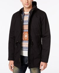 American Rag Men's Two In One Hooded Jacket Only At Macy's Deep Black