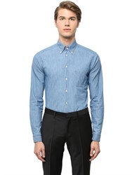 Eton Super Slim Fit Cotton Denim Shirt