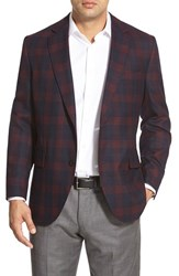 Men's Kroon 'Taylor' Regular Fit Plaid Sport Coat