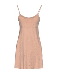 By Ti Mo Short Dresses Pink