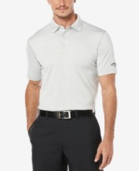 Callaway Men's Big And Tall Heathered Golf Polo High Rise