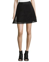 Romeo And Juliet Couture Mesh A Line Skirt Black